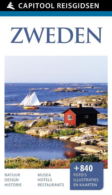 Zweden Capitool reisgidsen, Ulf Johansson, Hardcover