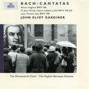 CANTATAS W/MONTEVERDI CHOIR, ENGLISH BAROQUE SOLOISTS, J.E.GARDI