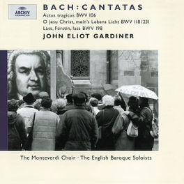 CANTATAS W/MONTEVERDI CHOIR, ENGLISH BAROQUE SOLOISTS, J.E.GARDI Audio CD, J.S. BACH, CD