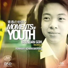MOMENTS OF YOUTH GOH/SCHOBESBERGER J.S. BACH, CD
