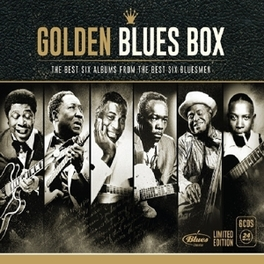 GOLDEN BLUES BOX LIMITED EDITION V/A, CD