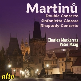 DOUBLE CONCERTO BRNSO STATE P.O./AUSTRALIAN CHAMBER ORCH. B. MARTINU, CD