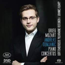 PIANO CONCERTO WURTTEMBERGISCHE PHILHARMONIE REUTLINGEN E. GRIEG, CD