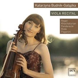 VIOLA RECITAL BUDNIK-GALAZKA, KATARZYNA, CD