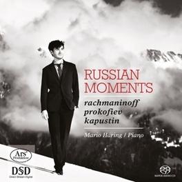 RUSSIAN MOMENTS MARIO HARING N. KAPUSTIN, CD