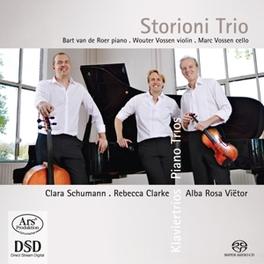 PIANO TRIOS STORIONI TRIO A.R. VIETOR, CD