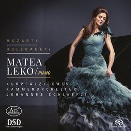 PIANO CONCERTOS NO.12 &.. MATEA LEKO I. MOZART/HOLZBAUER, CD