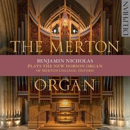MERTON ORGAN BENJAMIN NICHOLAS, CD