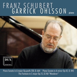 PIANO SONATA IN A GARRICK OHLSSON F. SCHUBERT, CD