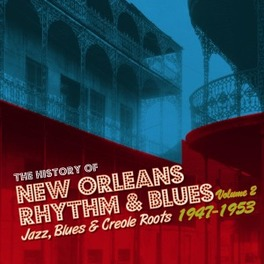 HISTORY OF NEW ORLEANS.. .. R&B VOL.2 V/A, CD