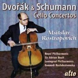CELLO CONCERTOS M.ROSTROPOVICH/RPO/BOULT DVORAK/SCHUMANN, CD