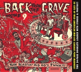 BACK FROM THE GRAVE 9 24-PAGE FULLCOLOR BOOKLETS CRAMMED WITH LINER NOTES V/A, CD