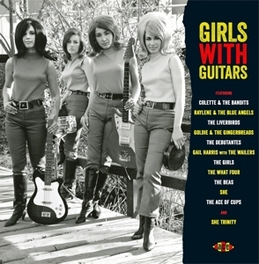 GIRLS WITH GUITARS V/A, Vinyl LP