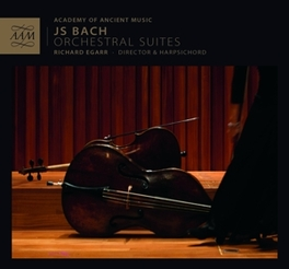 ORCHESTRAL SUITES NO.1-4 ACADEMY OF ANCIENT MUSIC/RICHARD EGARR J.S. BACH, CD