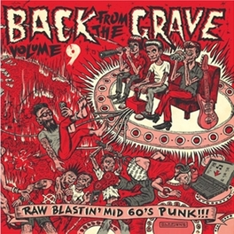 BACK FROM THE GRAVE 9 V/A, Vinyl LP