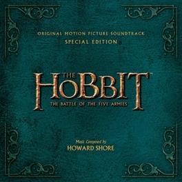 HOBBIT: BATTLE OF THE.. .. THE FIVE ARMIES Howard Shore, CD