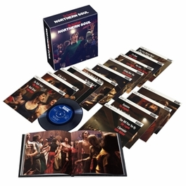 7-NORTHERN SOUL: THE FILM SPECIAL 14 X 7' VINYL BOX SET + 60 PAGE HARDBOUND V/A, 12' Vinyl