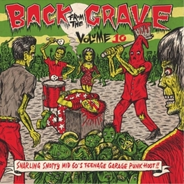 BACK FROM THE GRAVE 10 V/A, Vinyl LP
