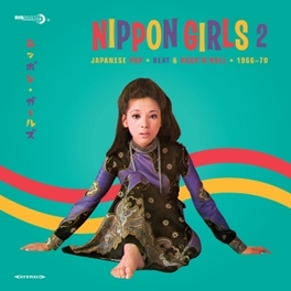 NIPPON GIRLS 2 * JAPANESE POP - BEAT & ROCK'N'ROLL - 1966-70 * V/A, Vinyl LP