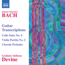 GUITAR TRANSCRIPTIONS GRAHAM ANTHONY DEVINE