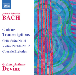 GUITAR TRANSCRIPTIONS GRAHAM ANTHONY DEVINE J.S. BACH, CD