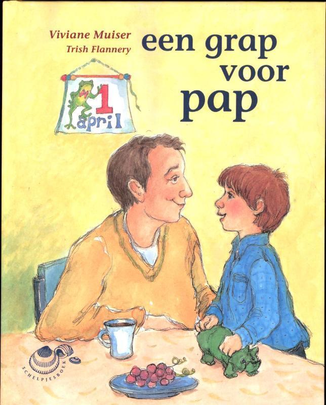Een grap voor pap Schelpjes, Viviane Muiser, Hardcover
