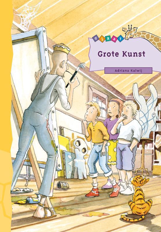 Grote Kunst Giraf, Kalwij, Adriana, Hardcover