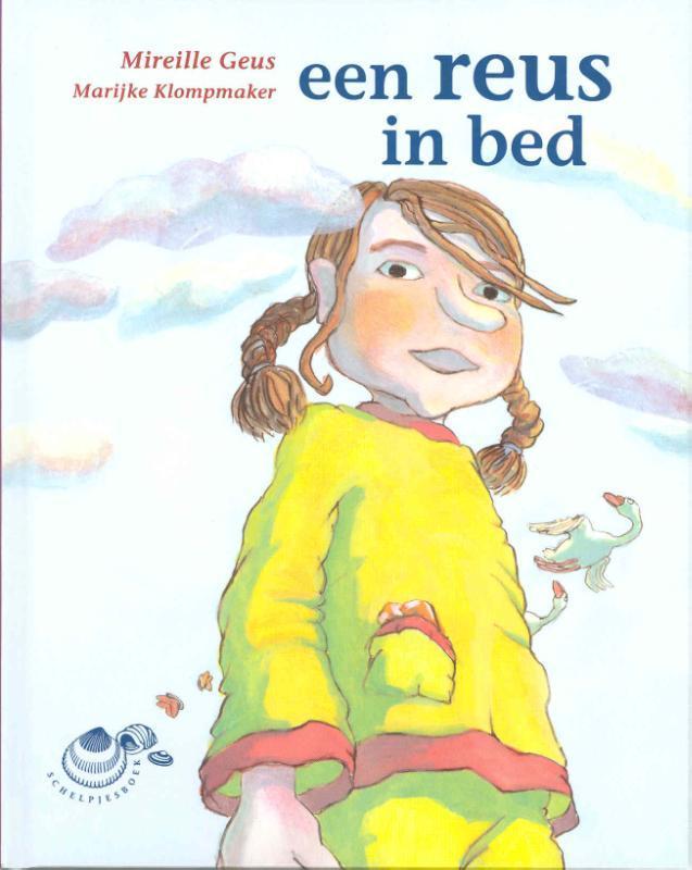 Een reus in bed Schelpjes, Mireille Geus, Hardcover