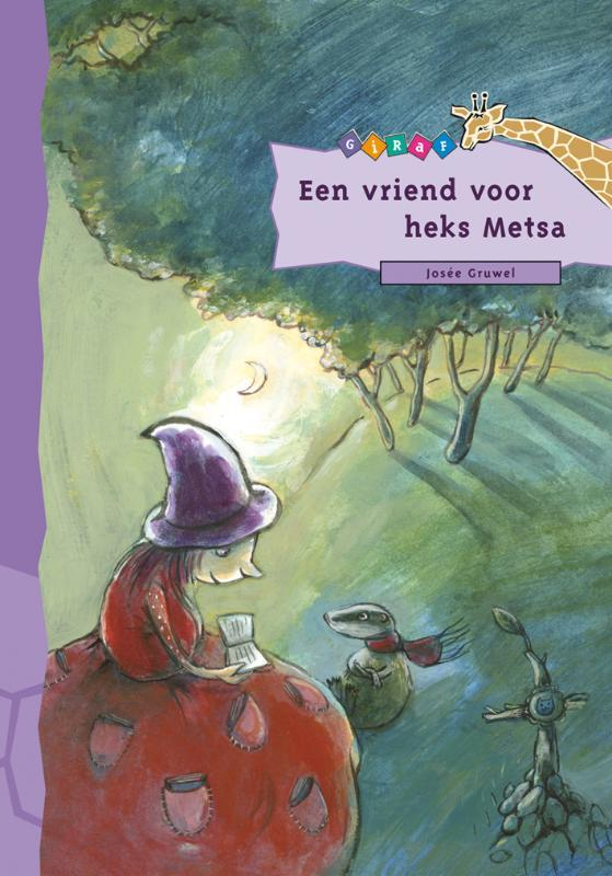 Een vriend voor heks Metsa Giraf, Gruwel, Josée, Hardcover