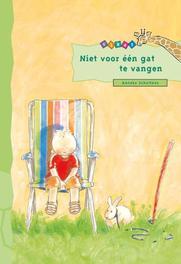 Niet voor een gat te vangen Giraf, Anneke Scholten, Hardcover