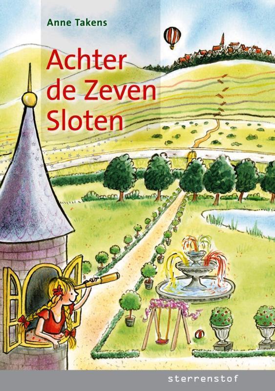 Achter de zeven sloten Sterrenstof, Takens, Anne, Hardcover