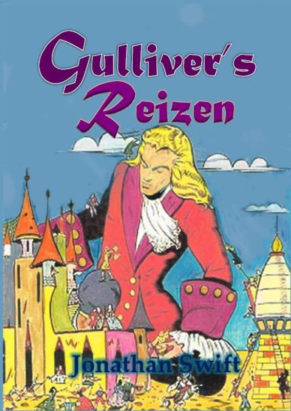 Gulliver's reizen Jonathan Swift, Paperback