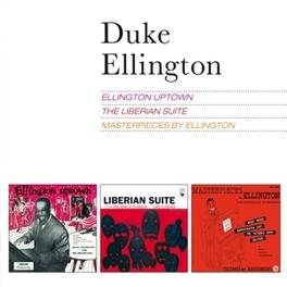 ELLINGTON.. .. UPTOWN/LIBERIAN SUITE/MASTERPIECES BY ELLINGTON DUKE ELLINGTON, CD
