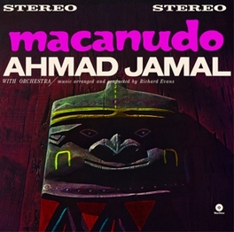 MACANUDO -HQ- 180 GR. 1 BONUS TRACK & DOWNLOAD CODE AHMAD JAMAL, LP