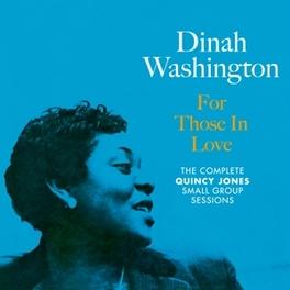 FOR THOSE IN LOVE PLUS 5 BONUS TRACKS DINAH WASHINGTON, CD