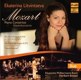 PIANO CONCERTOS NO.12 & N EKATERINA LITVINTSEVA/KLASSISCHE PHIL.KOLN/H.BEISSEL W.A. MOZART, CD