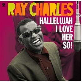 HALLELUJAH I LOVE.. -HQ- .. HER SO! / INCL. 2 BONUS TRACKS & DOWNLOAD CODE RAY CHARLES, Vinyl LP