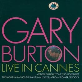 LIVE IN CANNES 1981 CONCERT Audio CD, GARY BURTON, CD