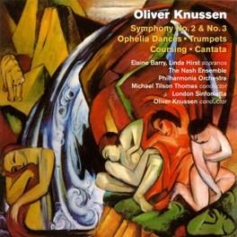 SYMPHONIES NO.2 & 3 SOLOISTS LONDON SINFONIETTA/PHIL.ORCHESTRA O. KNUSSEN, CD