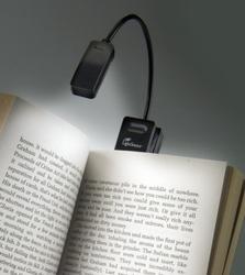 Leeslamp LED voor Ereader, zwarte uitvoering
