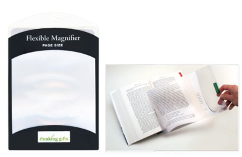 Magnifier Flexible Hardcover