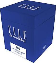 150 eenvoudige recepten van topchefs ELLE kookfiches, Paperback