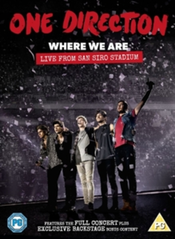 One Direction - Where We Are (dvd)