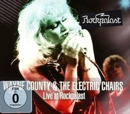 LIVE AT.. -CD+DVD- .. ROCKPALAST 1978 COUNTY, WAYNE & THE ELECT, CD