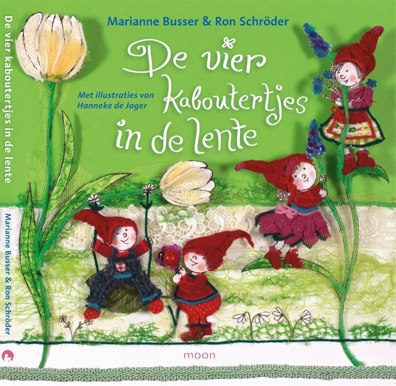 De vier kaboutertjes in de lente Schröder, Ron, Hardcover