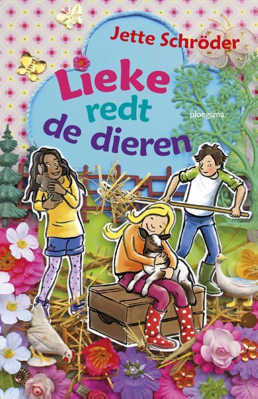 Lieke redt de dieren Jette Schröder, Hardcover