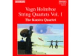 STRING QUARTETS 1 W/KONTRA QUARTET V. HOLMBOE, CD