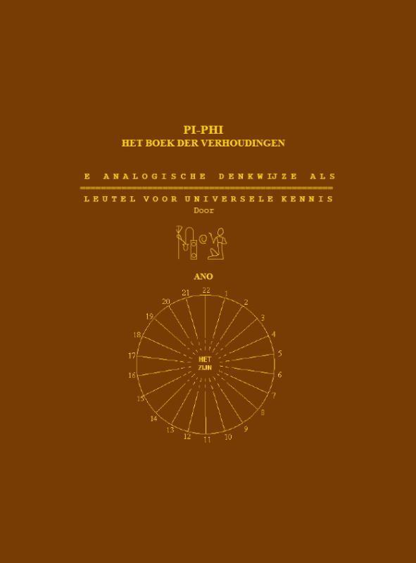 Pi-Phi het boek der verhoudingen, Ano, Paperback