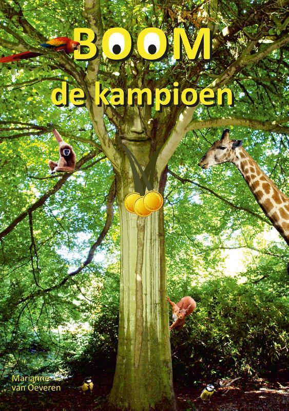 Boom de kampioen Van Oeveren, Marianne, Hardcover