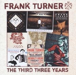 THIRD THREE YEARS FRANK TURNER, CD
